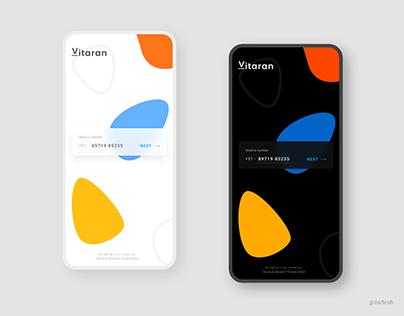 Vitaran - A Delivery app