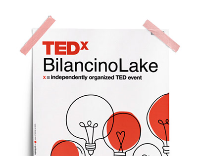 TEDx Bilancino Lake - Poster