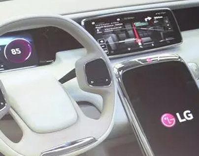 Digital Cockpit for LG Electronics (2014)