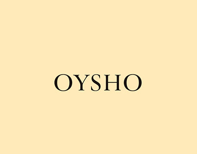Patterns and Positional proposal for OYSHO