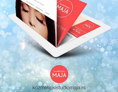 Beauty & Spa Center Visual Identity and website (2014)