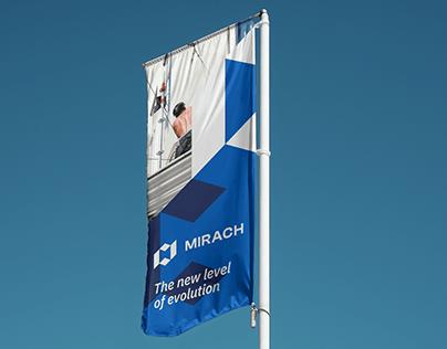 Mirach brand design
