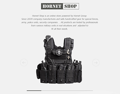 HORNET SHOP - special forces hand crafted gear