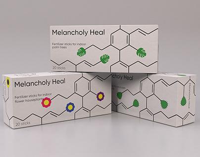 Melancholy Heal. Ferilizer for Houseplants.