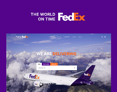 FedEx — New Website 2020