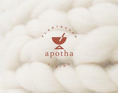 Apotha Plant Based Living Holistic Branding