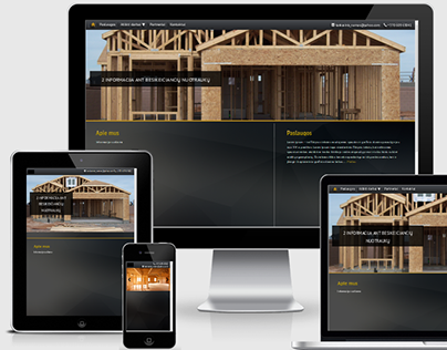 Created website for prefabricated house manufacturers
