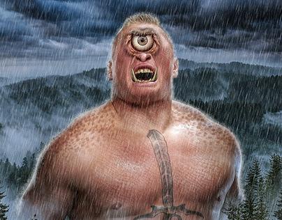 WWE Monster Poster