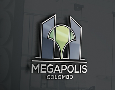 Brand design for Megapolis Colombo