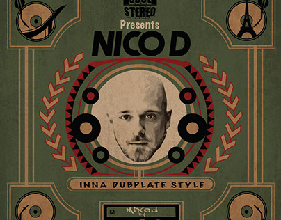 Nico D mix tape cover