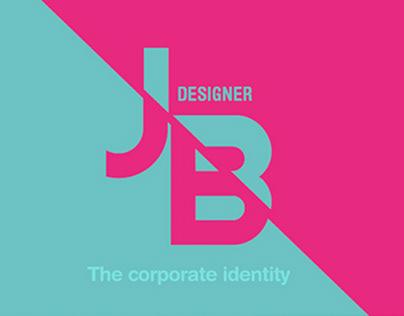 The corporate identity for Designer (Monogram Logo)