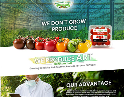 Martinez & Sons Gourmet Produce