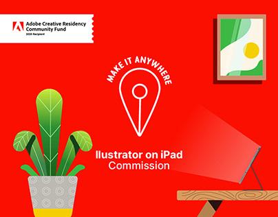 ACR Illustrator on iPad Commission