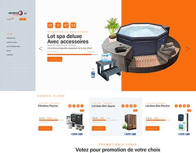 SHOP Webdesign UI/UX Design