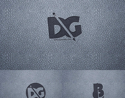 Fabric Paper Logo Mockup