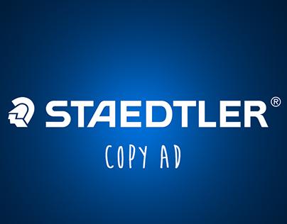 Staedtler Copy Ad