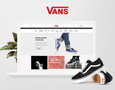 Vans/Pigshoes webshop