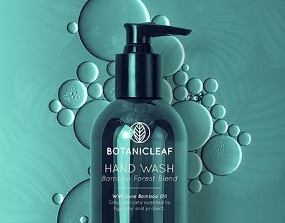 Botanicleaf Hand Wash Branding