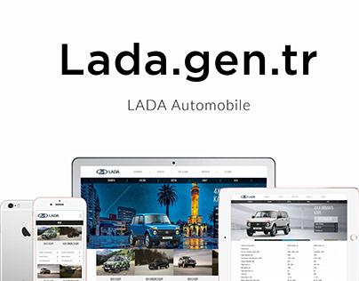Lada Web Site Design