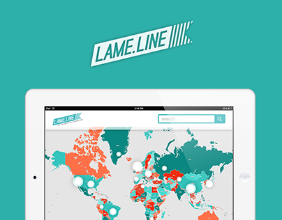 """Media Hack Day project - mobile app for """"lame"""" news"""