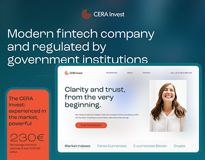 CERA Invest GmbH — Website