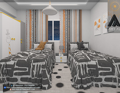 New project 😍 kid's room| 3DMAX-VRAY & 360 HOPE YOU