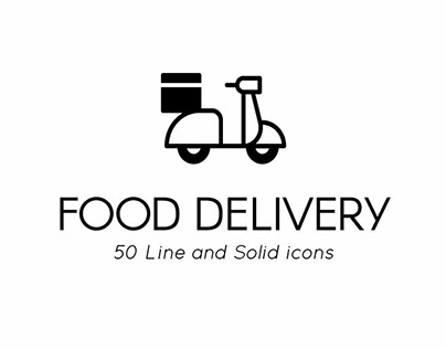 Food Delivery Premium Icon pack by Chanut Wongrattana
