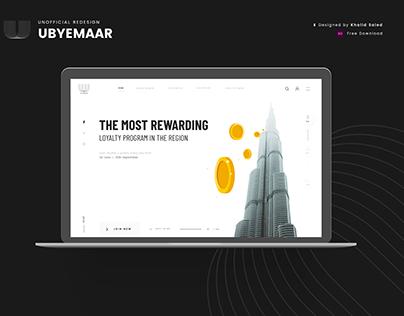 UbyEmaar Events Web Design | Free Download