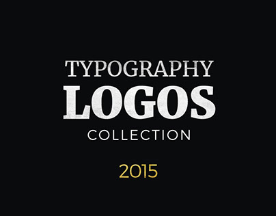 Fifty Typography Logos Collection in 2015