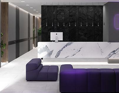Дизайн офиса крупной компании в Краснодаре