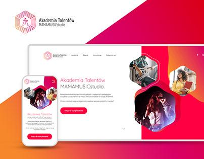 Talent Academy / Website & Social Content