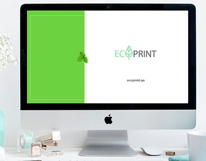 Presentation in ECO style + Logo