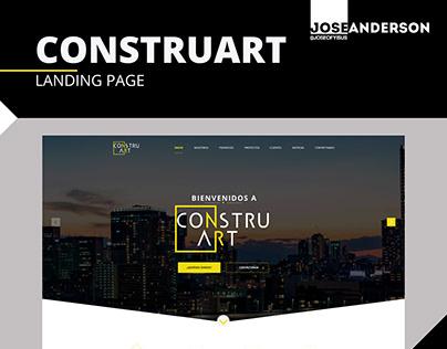 Landing Page | CONSTRUART