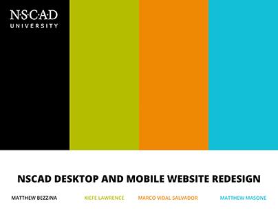 NSCAD Website Redesign