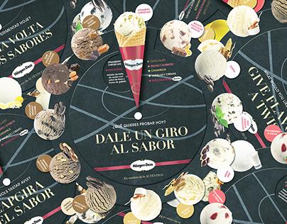 Ruleta de sabores Häagen-Dazs | Otoño-Invierno 2015