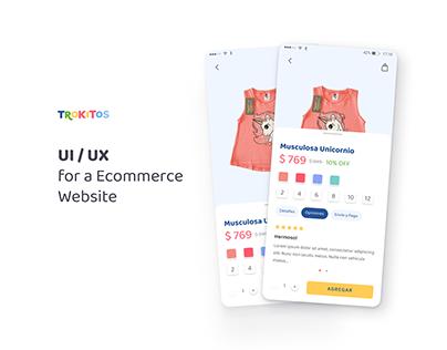 UX / UI - Trokitos Ecommerce 2.0