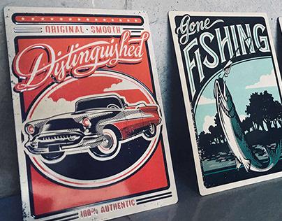 Hallmark Metal Tin Cards