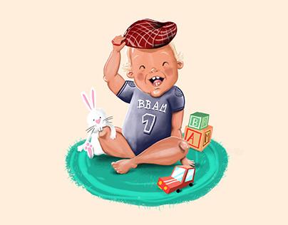 Illustration | Baby Bram