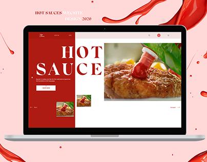 Sauces Website