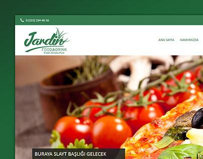 Jardin Cafe Web Design