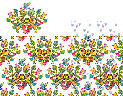 """Pattern design """"The Greatert Love of All"""""""