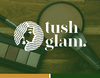 TUSHGLAM Logo Design concept