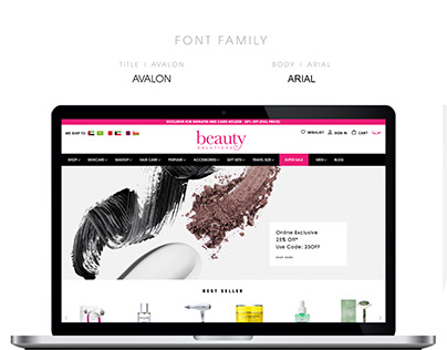 Beauty Solutions Online Store