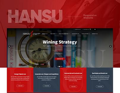 Hansu Corporate Responsive Websites