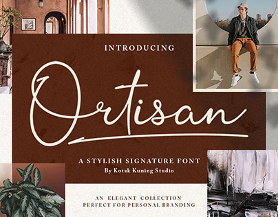 Ortisan Signature - Free Download