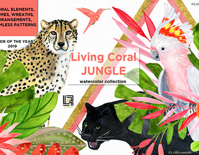 Living Coral Jungle