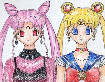 Sailor Moon🌙 & Blacklady 🌹