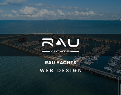 RAU YACHTS WEB DESIGN