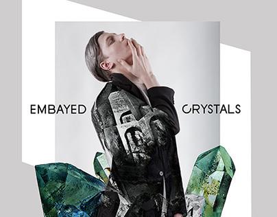 EMBAYED CRYSTALS