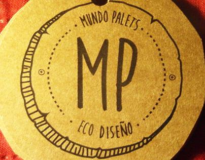 Diseño de marca Mundo Palets